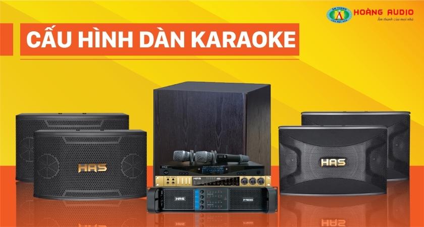 bộ dàn karaoke