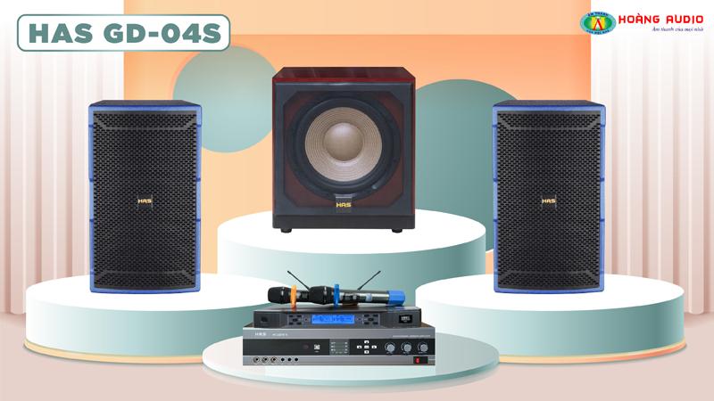 Dàn karaoke HAS 4.0 GD04S