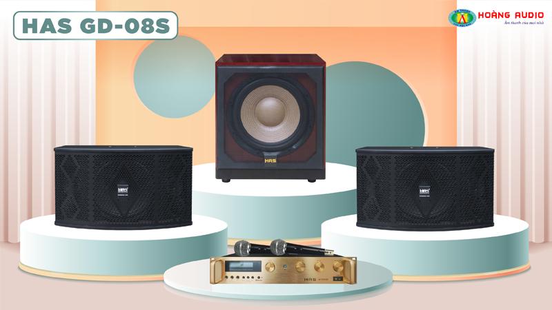 Dàn karaoke HAS 4.0 GD08S