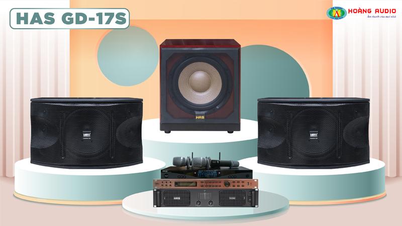 Dàn karaoke HAS 4.0 GD17S