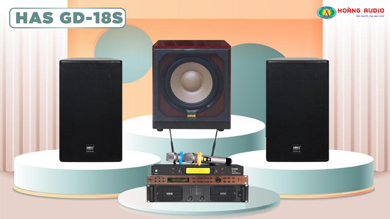 Dàn karaoke HAS 4.0 GD18S
