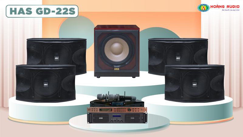 Dàn karaoke HAS 4.0 GD22S