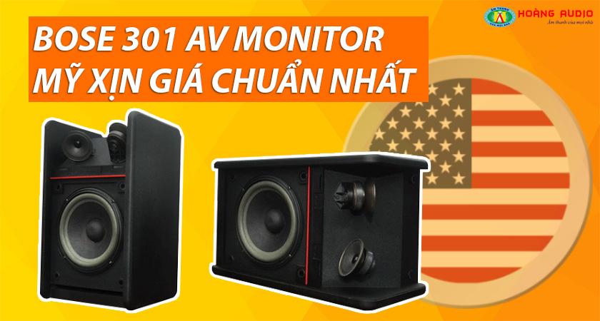 Loa hát karaoke gia đình hay Loa Bose 301 AV Monitor Mỹ xịn giá chuẩn nhất