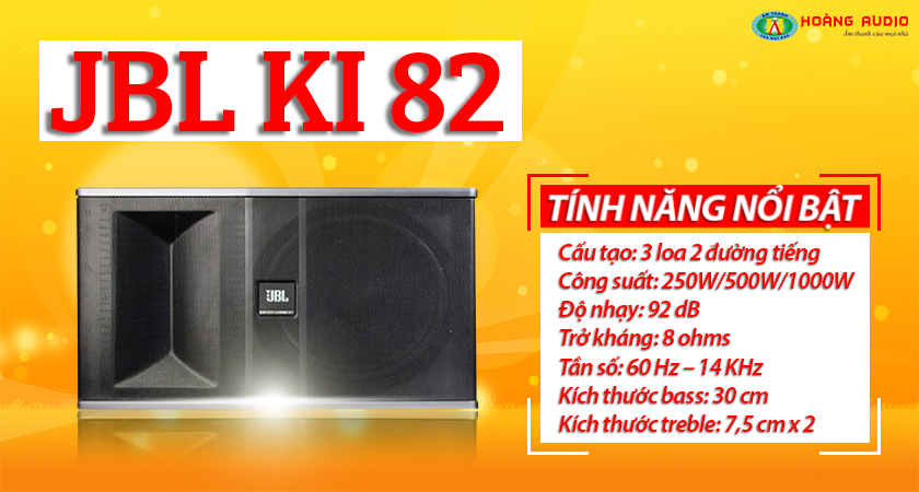 Những điểm nổi bật của loa karaoke JBL ki 82