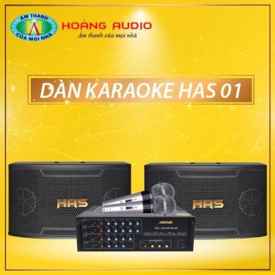 Dàn karaoke HAS 01