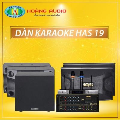 Dàn karaoke HAS 19