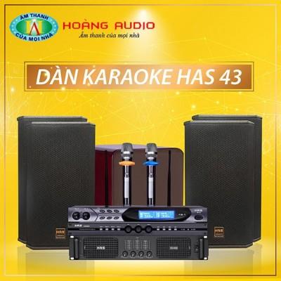 Dàn karaoke HAS 43