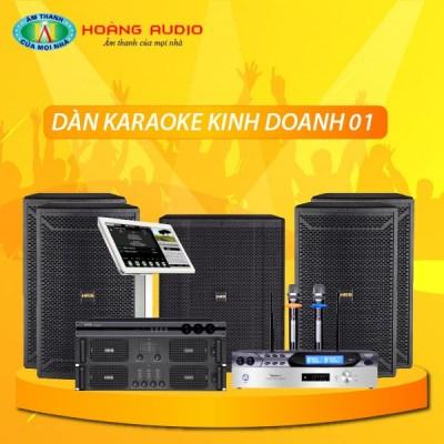 Dàn karaoke kinh doanh KD01