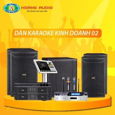 Dàn karaoke kinh doanh KD02