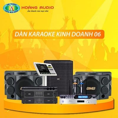 Dàn karaoke kinh doanh KD06