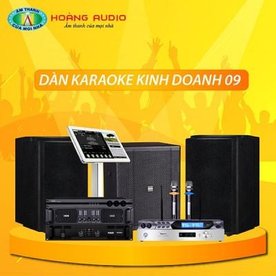 Dàn karaoke kinh doanh KD09