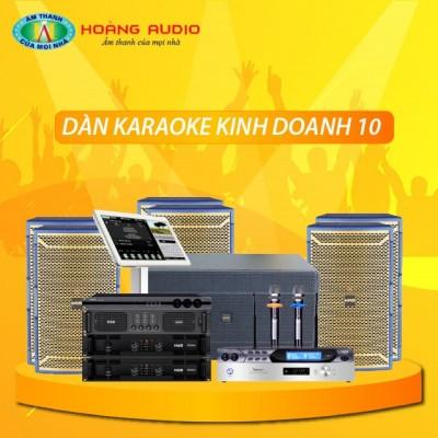 Dàn karaoke kinh doanh KD10