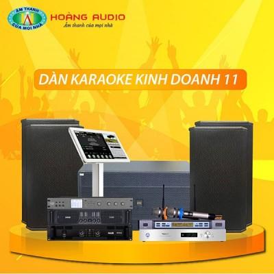 Dàn karaoke kinh doanh KD11