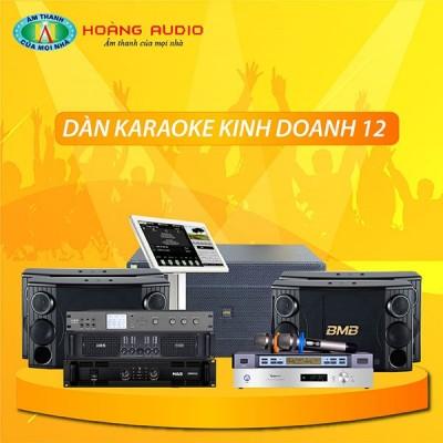 Dàn karaoke kinh doanh KD12