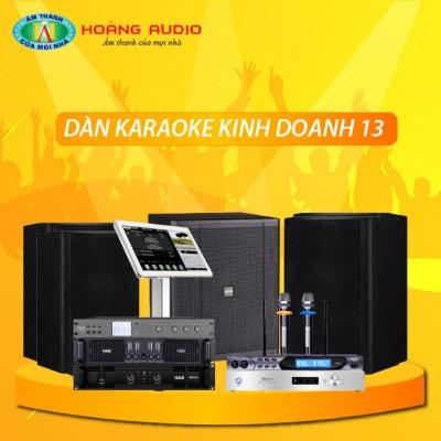 Dàn karaoke kinh doanh KD13