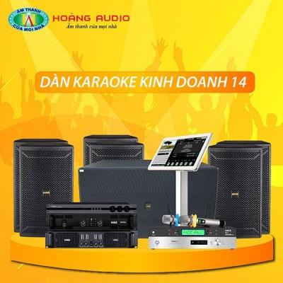 Dàn karaoke kinh doanh KD14