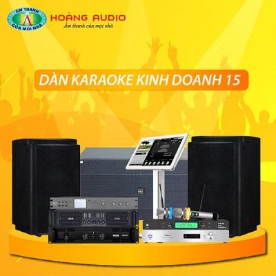 Dàn karaoke kinh doanh KD15