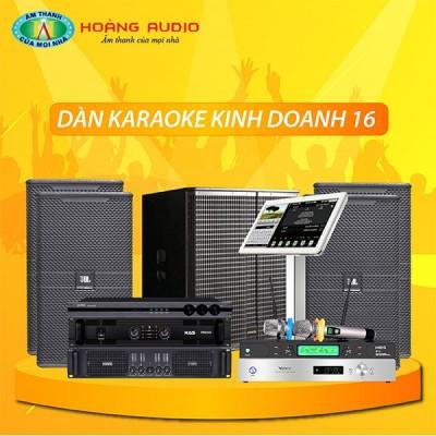 Dàn karaoke kinh doanh KD16