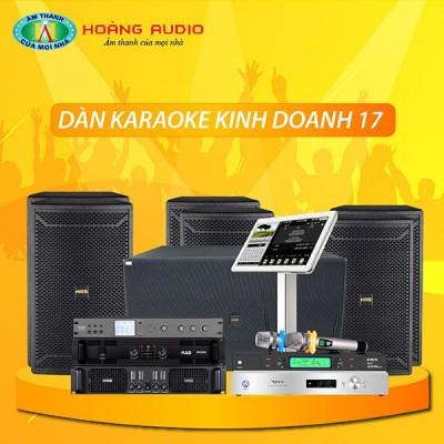 Dàn karaoke kinh doanh KD17