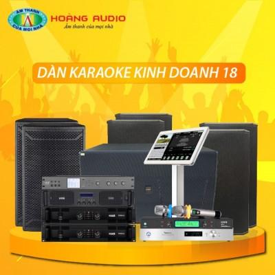 Dàn karaoke kinh doanh KD18