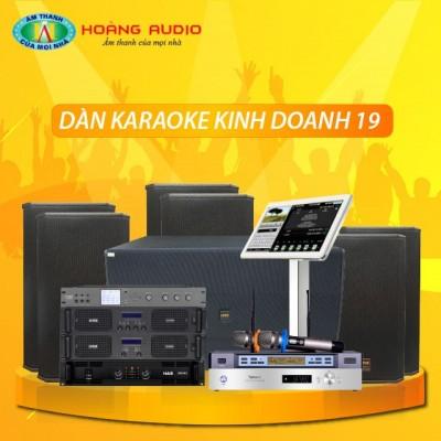 Dàn karaoke kinh doanh KD19