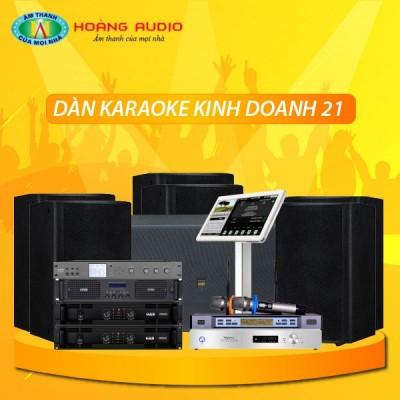 Dàn karaoke kinh doanh KD21