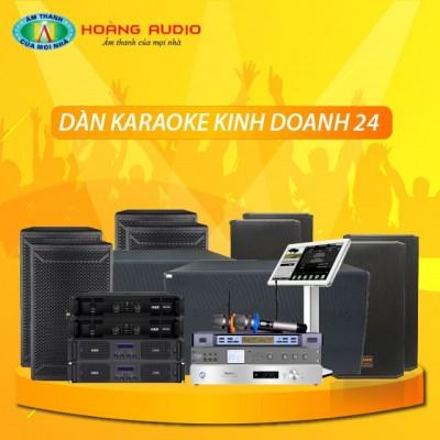Dàn karaoke kinh doanh KD24