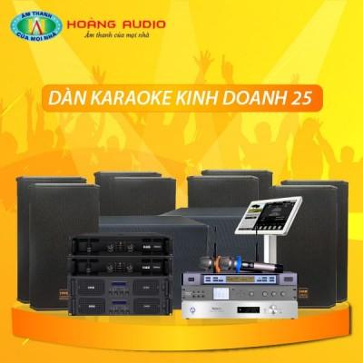 Dàn karaoke kinh doanh KD25