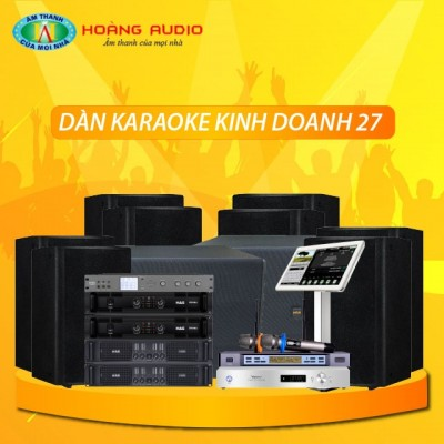 Dàn karaoke kinh doanh KD27