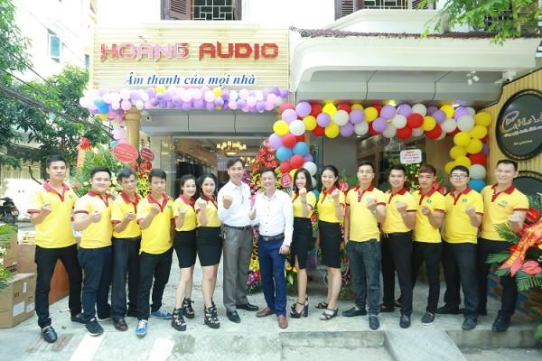 Lễ khai trương Hoàng Audio mới nhất chính thức diễn ra 8h 14/10/2018