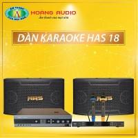 Dàn karaoke HAS 18