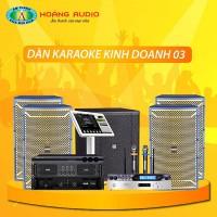 Dàn karaoke kinh doanh KD03