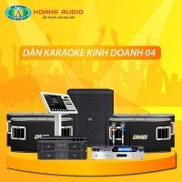 Dàn karaoke kinh doanh KD04