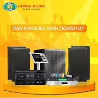 Dàn karaoke kinh doanh KD07