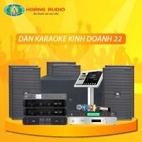Dàn karaoke kinh doanh KD22