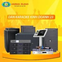 Dàn karaoke kinh doanh KD23