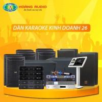 Dàn karaoke kinh doanh KD26