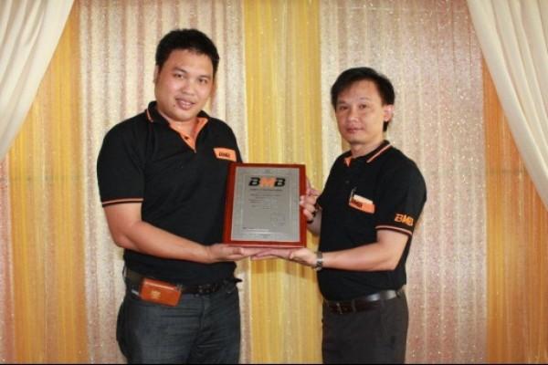 BMB Chính hãng phân phối độc quyền do BMB Japan Uỷ nhiệm.