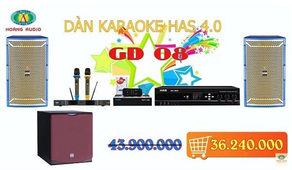 Dàn karaoke gia đình HAS 4.0 [P3- 03 Mẫu Dàn karaoke 2019]