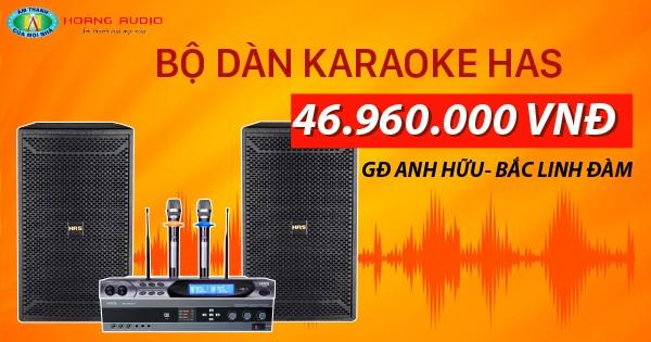 Hoàng Audio setup bộ dàn karaoke cực chuẩn cho anh Hữu - Bắc Linh Đàm