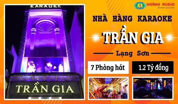Hoàng Audio thi công lắp đặt dàn âm thanh karaoke quán hát Trần Gia siêu khủng