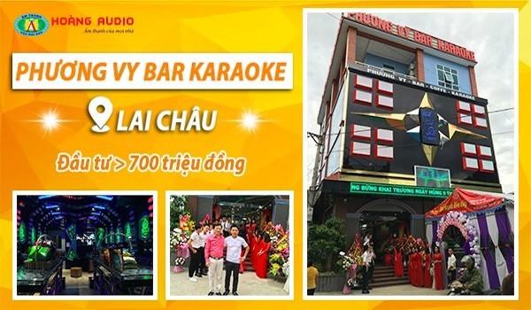 Hoàng Audio thi công Phương Vy karaoke tại Lai Châu