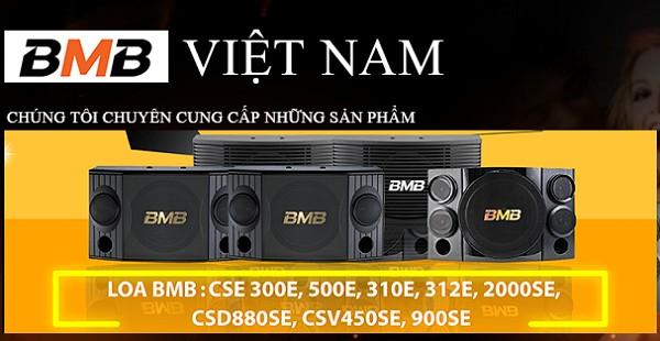 BMB Viet nam - loa Bmb chính hãng tại Hoàng Audio