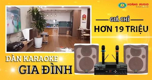 Lắp đặt bộ dàn karaoke 20 triệu cho chị Hà - Hà Đông