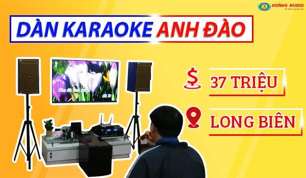Lắp đặt bộ dàn karaoke 37 triệu nhà anh Đào ở Long Biên, Hà Nội