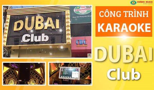Thi công công trình karaoke Dubai - Vạn Phúc, Hà Đông