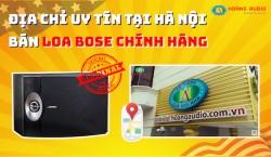 Địa chỉ uy tín Tại Hà nội chuyên bán loa Bose Mỹ xịn chính hãng