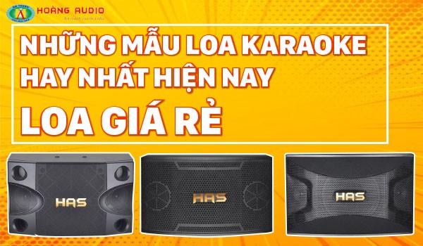 TOP 5 Loa Giá Rẻ Hát Karaoke Hay Cho Gia Đình 2021
