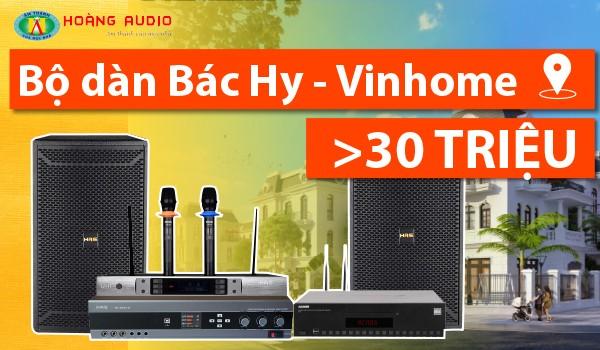 Bộ dàn karaoke cực hay 30 triệu đồng của bác Hy tại Vinhomes Gardernia
