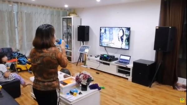 Lắp đặt bộ dàn karaoke chuyên nghiệp cho chị Phương - Hoàng Mai
